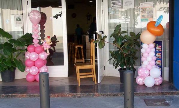Decoraci n con globos para fiestas infantiles salones y for Arreglos con globos para boda en jardin
